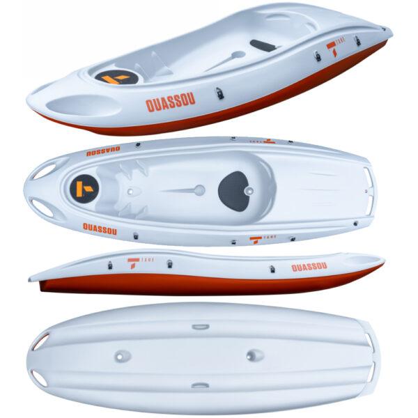 Tahe κανό καγιάκ OUASSOU kayak