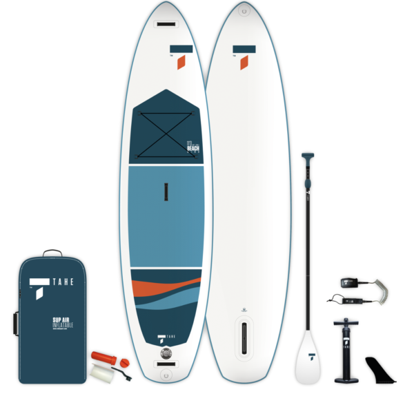 """Νέα φουσκωτή σανίδα SUP από την TAHE ( BiC Sport) 11'0"""" BEACH WING"""